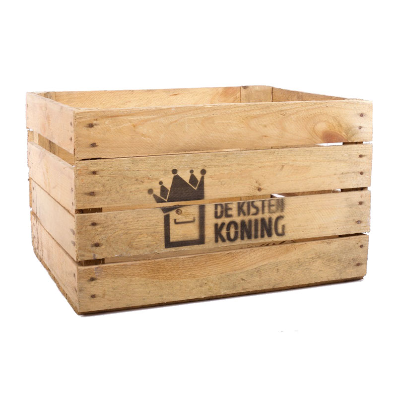 Apple Crates With Logo
