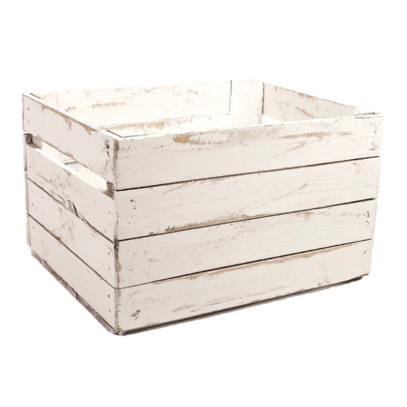 Beach look apple crates king of crates for Used apple crates