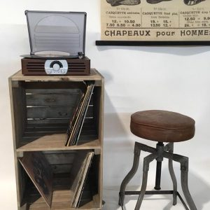 LP BOX. In Stock. Apple Crates Furniture